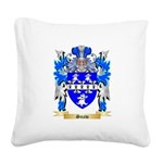 Snaw Square Canvas Pillow