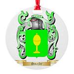 Snajdr Round Ornament