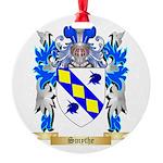 Smythe Round Ornament