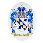 Smythe Oval Ornament