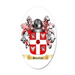 Smulian Oval Car Magnet