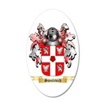 Smulevich 20x12 Oval Wall Decal