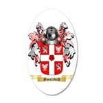 Smulevich 35x21 Oval Wall Decal