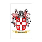 Smulevich 20x12 Wall Decal