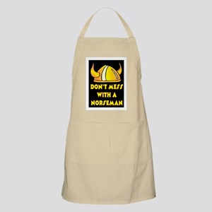 DON'T MESS WITH A NORSEMAN Apron