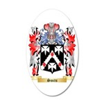 Smits 35x21 Oval Wall Decal