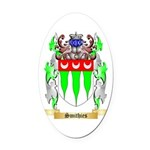 Smithies Oval Car Magnet