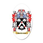 Smitherman Oval Car Magnet