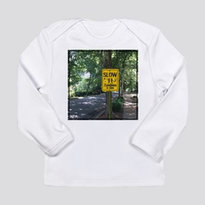 Zombies X-ing Long Sleeve T-Shirt