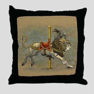 Carousel Chimera Throw Pillow