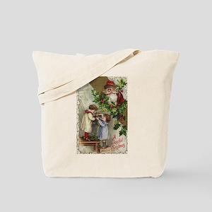 Vintage Christmas Card Tote Bag