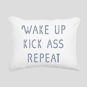Wake Up Rectangular Canvas Pillow