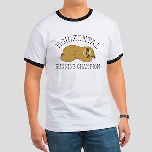 Horizontal Running Champion - Sloth T-Shirt