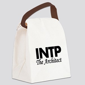 INTP | The Architect Canvas Lunch Bag