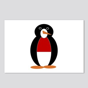 Penguin of Monaco Postcards (Package of 8)