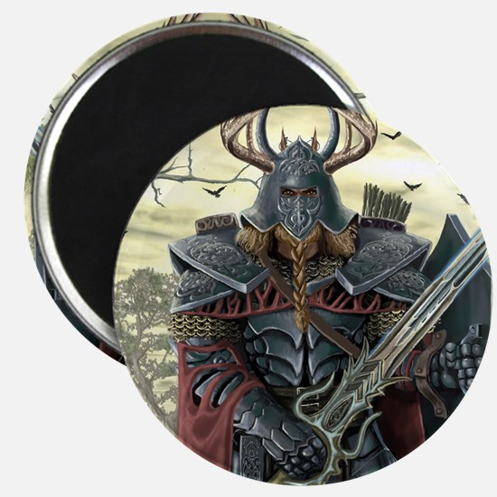 viking warrior Magnets