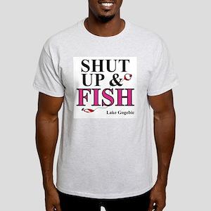 Shut Up & Fish Light T-Shirt