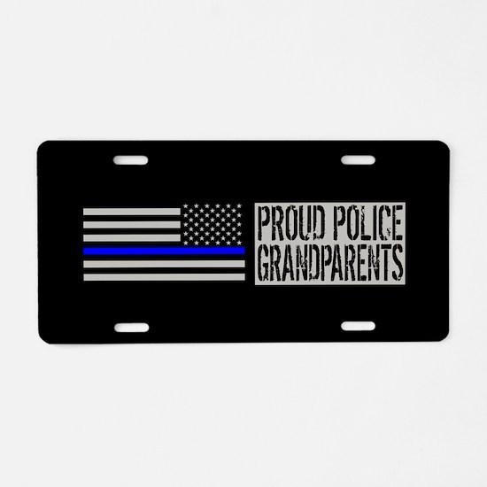 Police: Proud Grandparents Aluminum License Plate