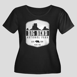 Big Bend National Park Plus Size T-Shirt