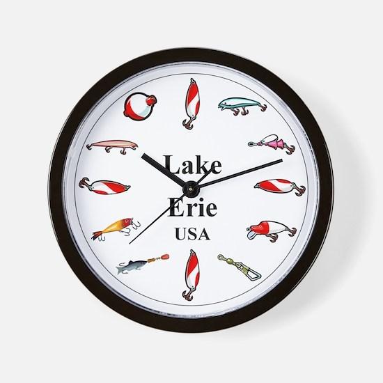 Lake Erie clocks Wall Clock