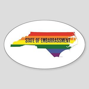 NC HB2 state of embarrassment Sticker