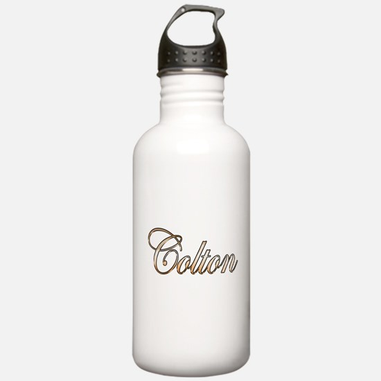 Gold Colton Water Bottle