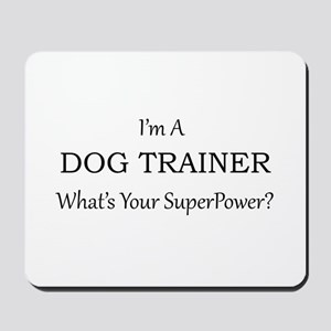 Dog Trainer Mousepad