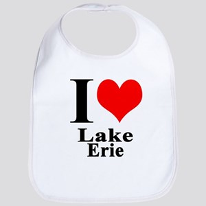 I heart Lake Erie Bib