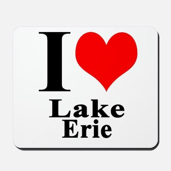 I heart Lake Erie Mousepad