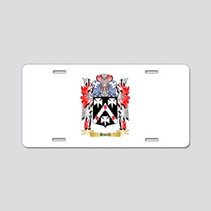 Smith Aluminum License Plate