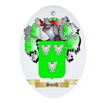 Smith 3 Oval Ornament