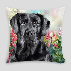 Labrador Painting Everyday Pillow