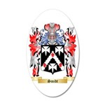 Smidt 35x21 Oval Wall Decal
