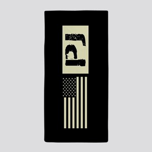 U.S. Air Force: Pararescue (Black Flag Beach Towel