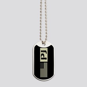 U.S. Air Force: Pararescue (Black Flag) Dog Tags