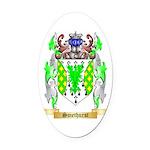 Smethurst Oval Car Magnet