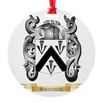 Smartman Round Ornament