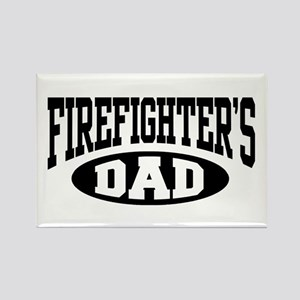Firefighter's Dad Rectangle Magnet