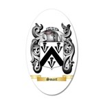 Smart 20x12 Oval Wall Decal