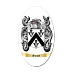 Smart 35x21 Oval Wall Decal