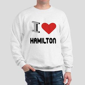 I Love Hamilton City Sweatshirt