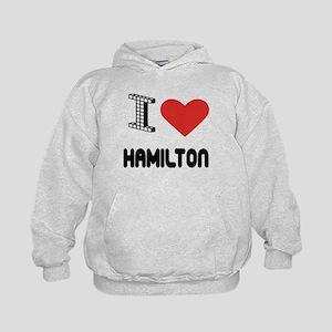 I Love Hamilton City Kids Hoodie