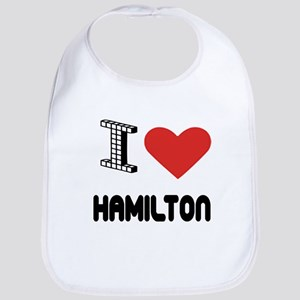 I Love Hamilton City Bib