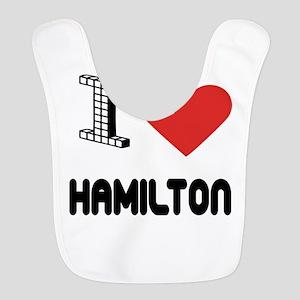 I Love Hamilton City Bib