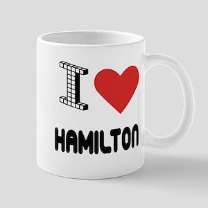 I Love Hamilton City Mug