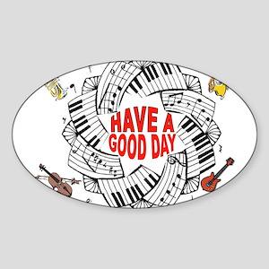 MUSICAL DAY Sticker
