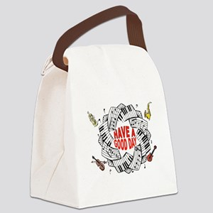 MUSICAL DAY Canvas Lunch Bag