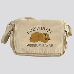 Horizontal Running Champion - Sloth Messenger Bag