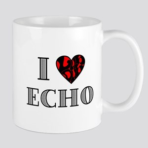 I Lubdub Echo Red Mug