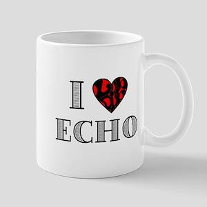 I Lubdub Echo Red Mug